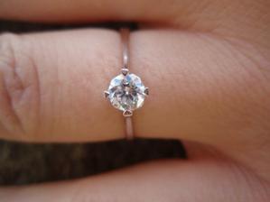 Moj zásnubný prstienok :o)