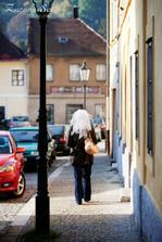 Přízrak v ulicích Kutné Hory