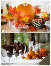 Výzdoba - PŘEDSTAVA - podzimní barvy, okrasné dýně