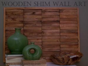 drevený obraz     -----http://www.bystephanielynn.com/2011/01/create-custom-natural-wall-art-piece.html