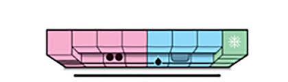 Pracovný trojuholník v lineárnej kuchyni zaniká, ale logické a ergonomické usporiadanie význam nestráca.