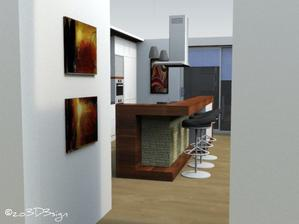 Obývačka s kuchyňou pre @sportline