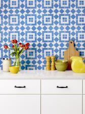 Je lepšie múdro vybrať jeden vzor na jednu stenu alebo jeden kus nábytku, než...