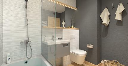 Kúpeľňa pre jeden hotelový projekt