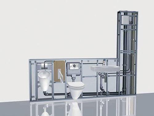 Kúpelne-parametre + zaujímavosti - nákres inštalácií