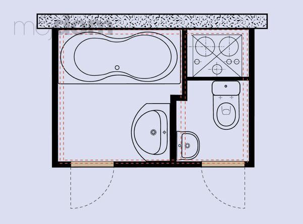 Kúpelne-parametre + zaujímavosti - bytové jadro 2 - rozloženie sanity