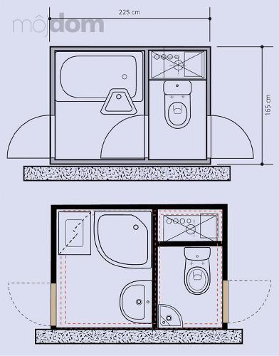 Kúpelne-parametre + zaujímavosti - bytové jadro 3 - rozloženie sanity