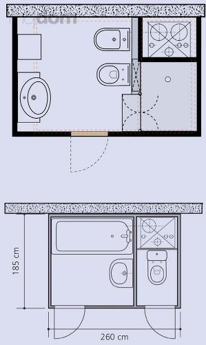 Kúpelne-parametre + zaujímavosti - bytové jadro 4 - rozloženie sanity