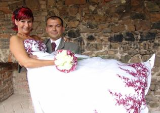 Posilování i ve svatební den