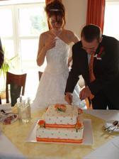 Náš dort (pěkně ladil)