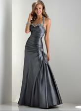 popolnočné šaty, veľmi sa mi páčia, ale farba šiat bude závisieť aj od farby výzdoby