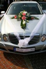 svadobné autíčko:)
