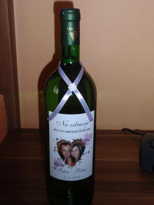 P@ P - 7. máj 2011 - Naše svadobné vínko