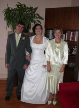 pred svadbou s rodičmi