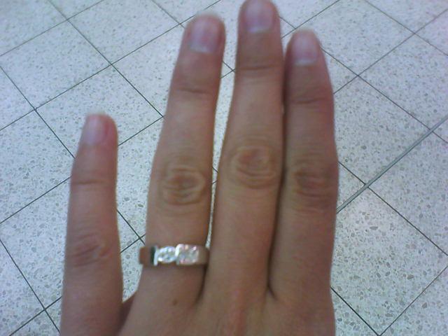 My...:) - můj zásnubní...:)))