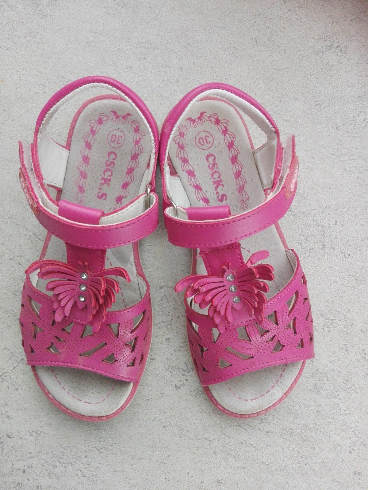 ruzove sandalky - Obrázok č. 1