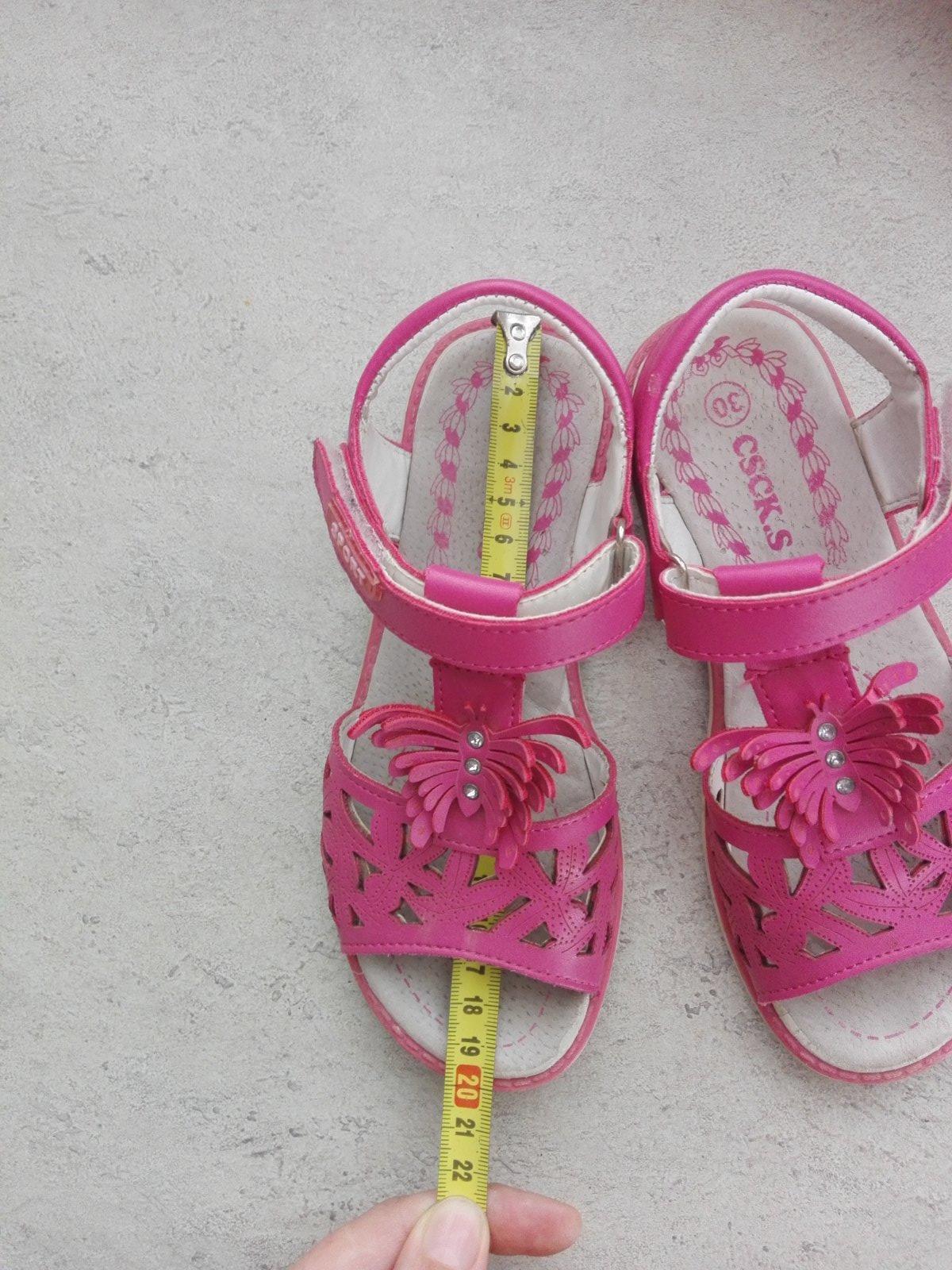ruzove sandalky - Obrázok č. 2