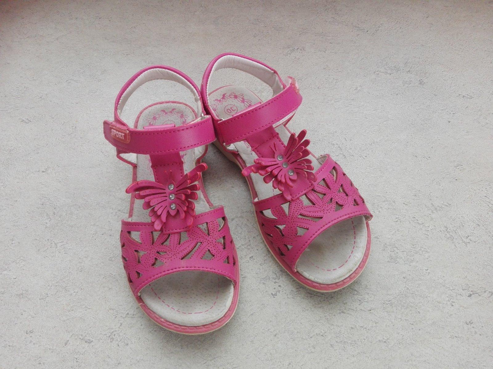 ruzove sandalky - Obrázok č. 3