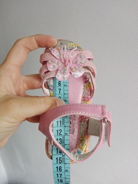 dievcenske sandalky - Obrázok č. 2