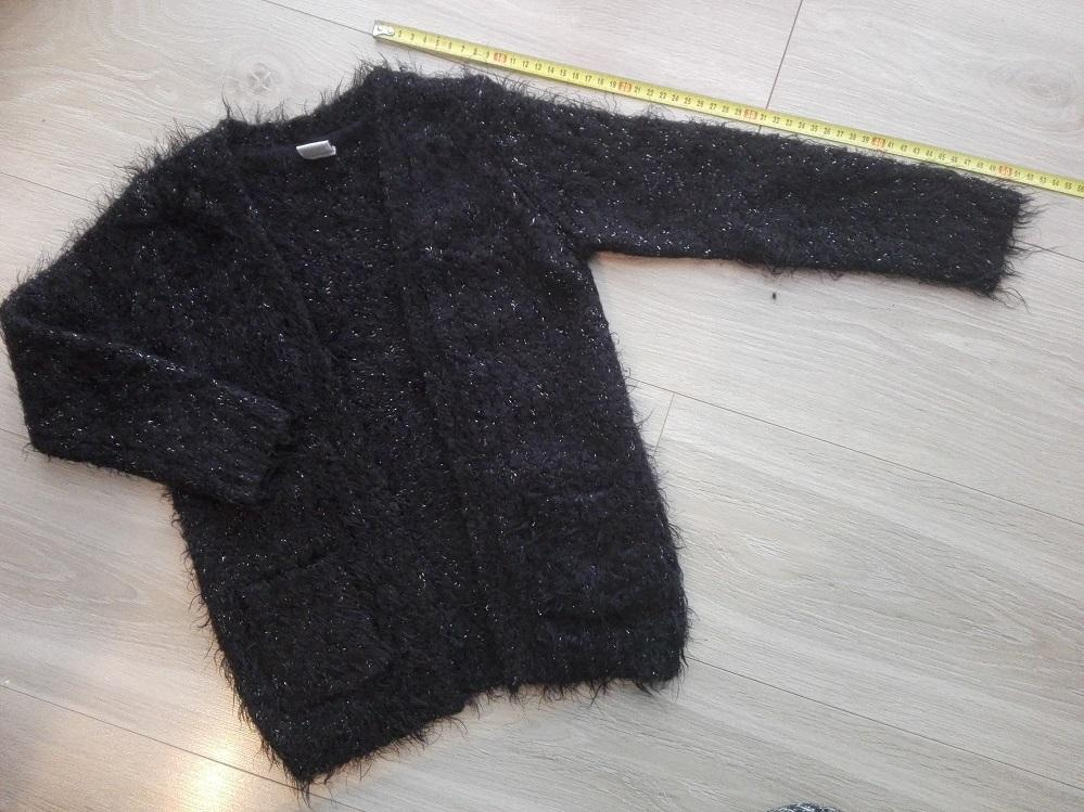 Dievcensky chlpaty sveter, cardigen - Obrázok č. 1