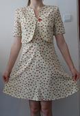spoločenské šaty - model, 38