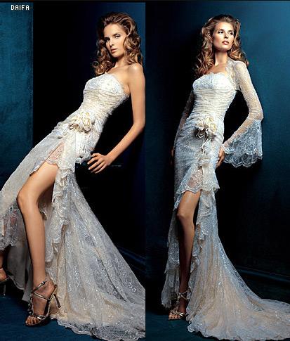 Marinka - Další zkoušené šaty - moc sexy, ale nepřipadaly mi jako svatební..