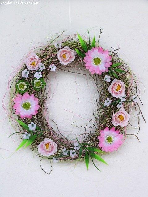 Marinka - Tento krásný věneček budu mít od rijany - moc děkuju!!!