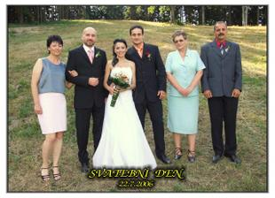Rodiče nevěsty a rodiče ženicha