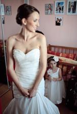 Až budu velká, taky budu nevěsta :)