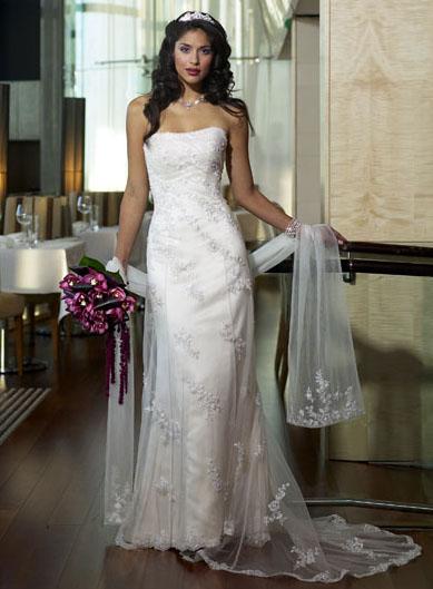 Nasa svadba - Dalsia moznost pre sestru... Ambrosia, Maggie Sottero, nadherna cipka.