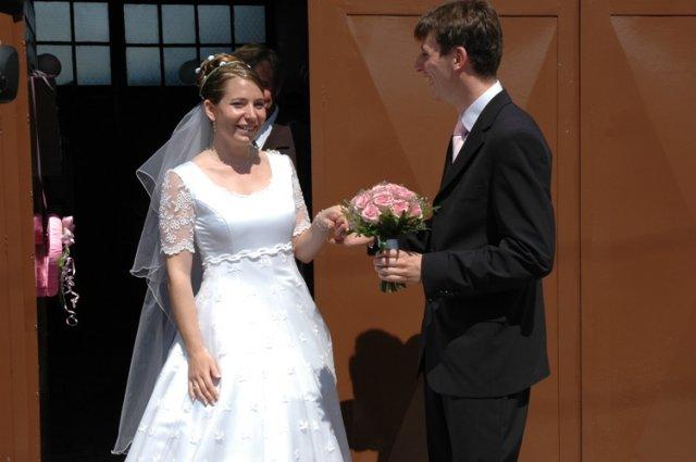 Andrejka{{_AND_}}Macko - Aaaa, konečne vyšla tá správna za potlesku svadobčanov.