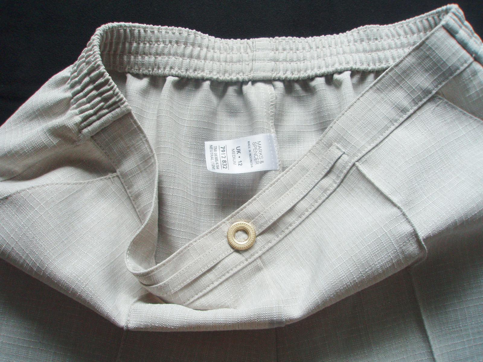 elegantné nohavice Marks&Spencer veľ. 40 - Obrázok č. 3