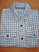košeľa s roll-up rukávmi na 5 r., 110