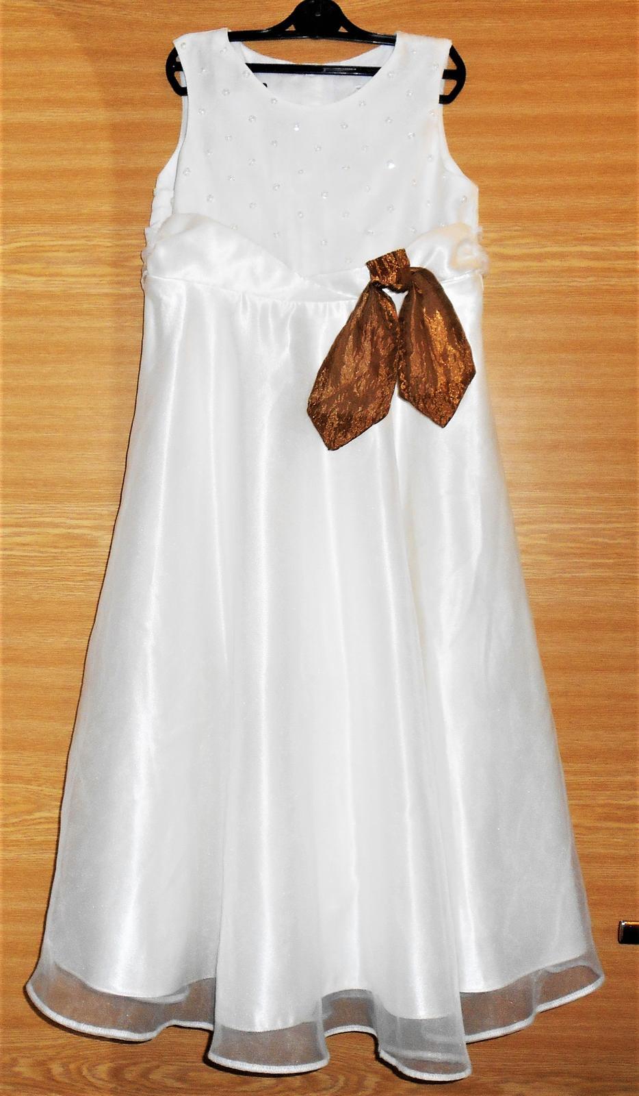 spoločenské šatečky Next na 8 rokov - Obrázok č. 1