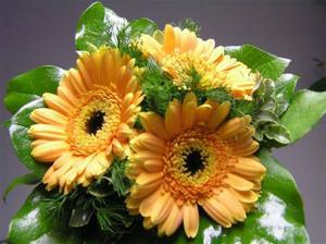 květina pro družičku