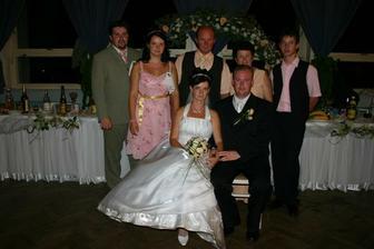 moji rodičia, sestra s manželom a brat