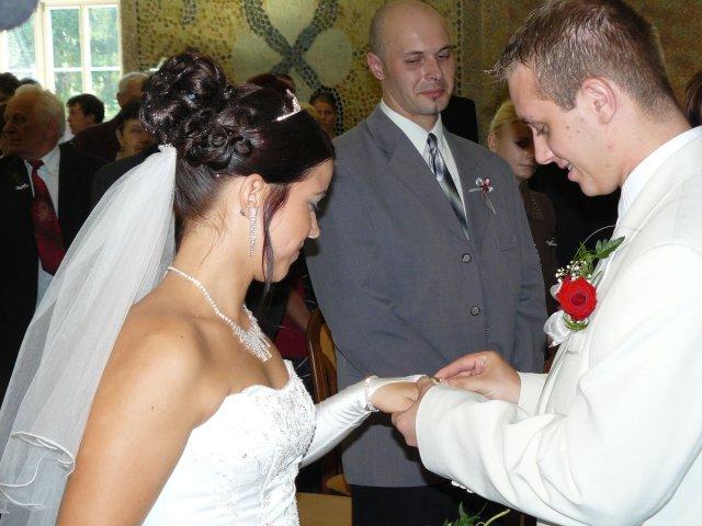 Michaela{{_AND_}}Marek - já ti prstýnek dám.....