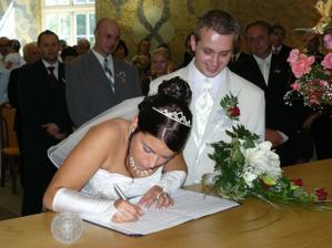 podpis jsem doma trénovala :-))