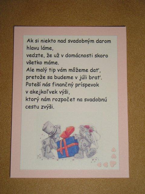 Nasa vysnena svadba :) - Obrázok č. 59