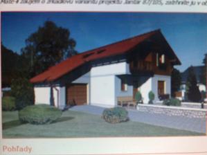 tak toto bude naš domček ale bez garaže