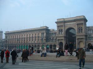 Miláno - zásnuby