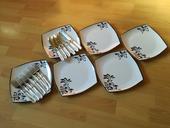 Plastove taniere + pribor,