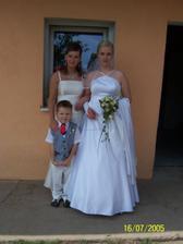moja nastavajuca švagrinka a moje krsniatko