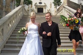štastny novomanželia