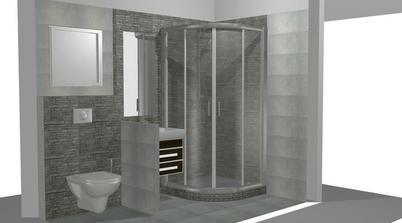 opravený návrh koupelny