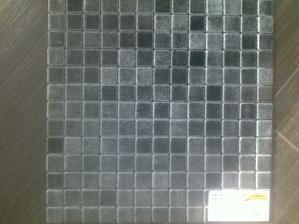 Mozaika na podlahu sprchového koutu-síťovina negro niebles