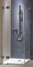 objednaná zástěna sprchového koutu, sice dražší, ale celoskleněná jakou jsme chtěli (kolo niven)
