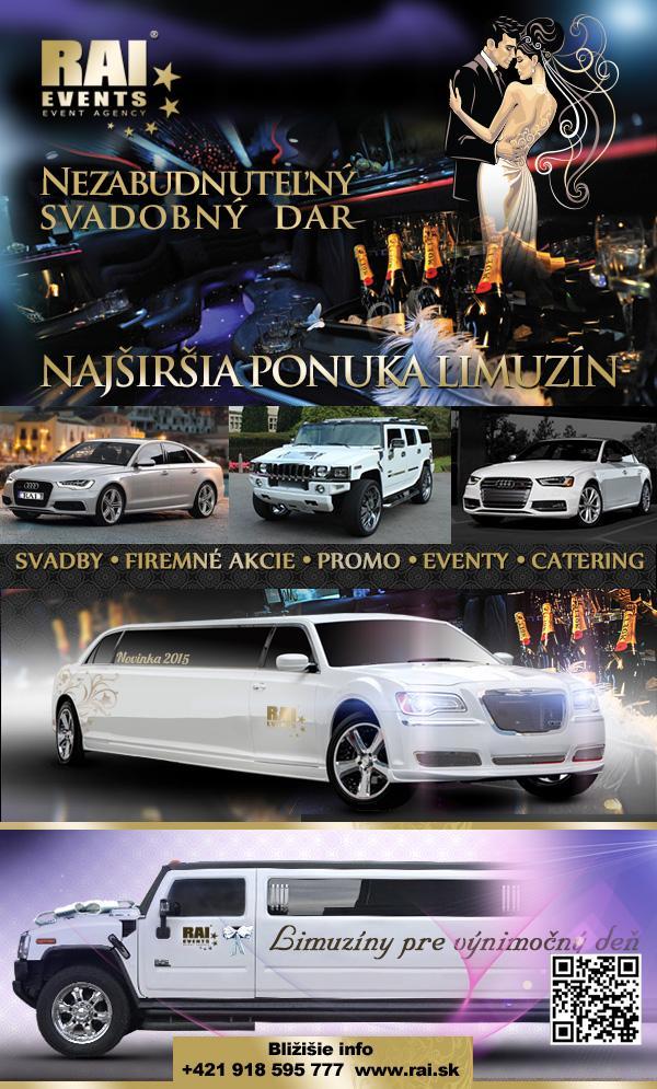 Najširšia ponuka svadobných limuzín... - Obrázok č. 1