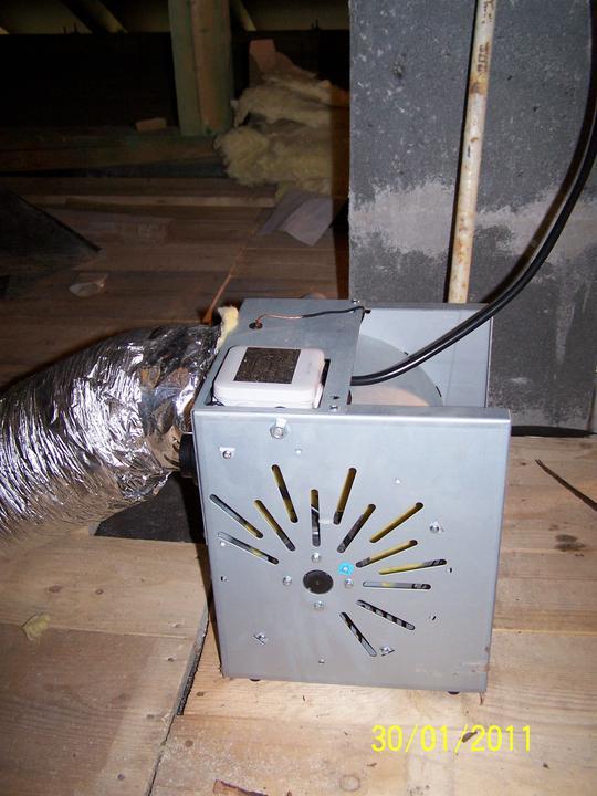 Náš dom - ventilátor, ešte doplniť filtráciu