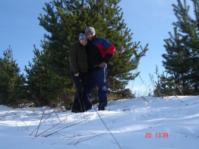 Tina a  Jarko 20.9.2008 - nasa mini dovolenka v Tatrach
